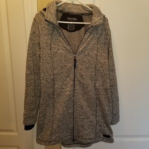 Calvin Klein Performance 0X Marled Hooded Jacket